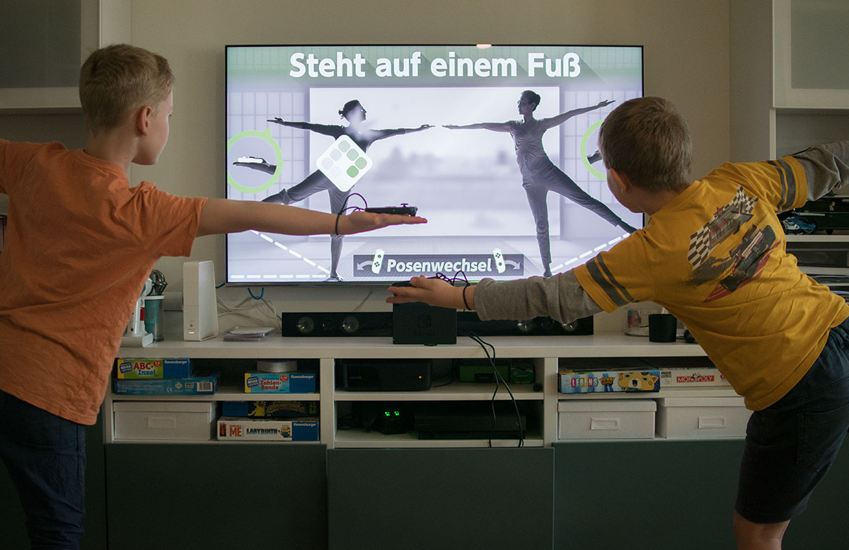 1-2-Switch für den Nintendo Switch spiele switch yoga