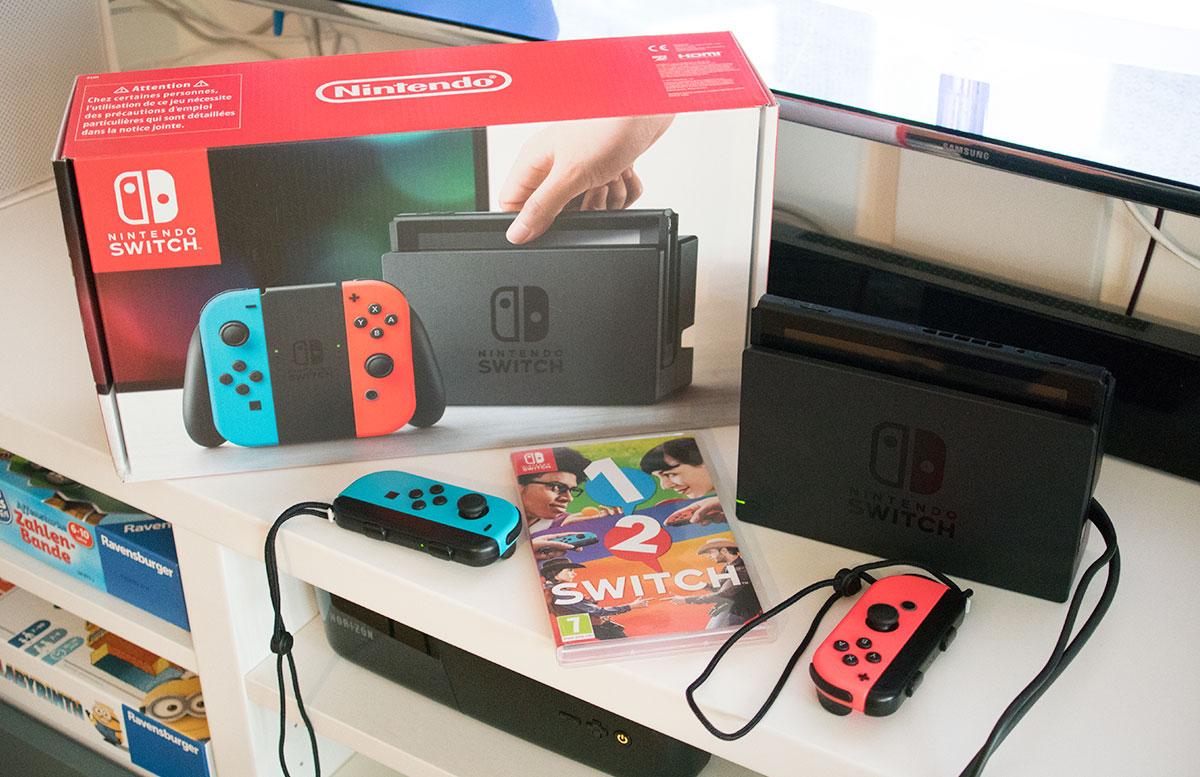 1-2-Switch für den Nintendo Switch spiele