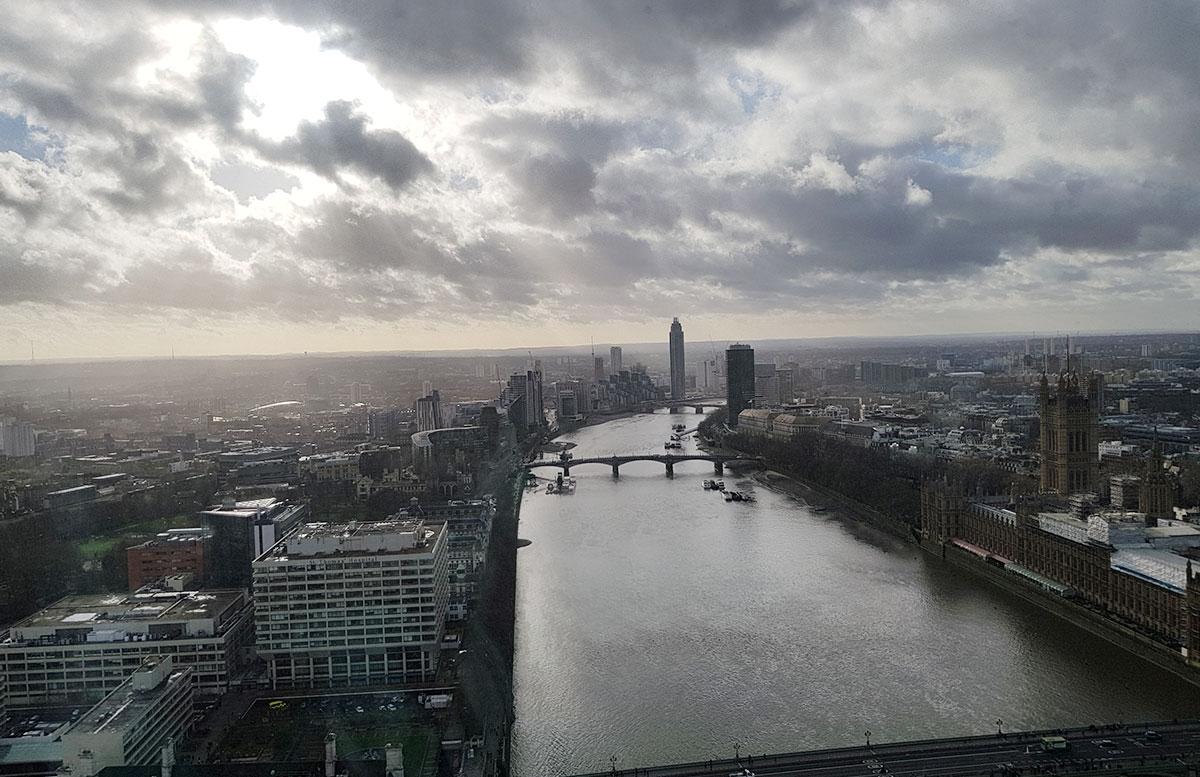 10 Ausflugstipps für London mit Kindern london eye aussicht von oben