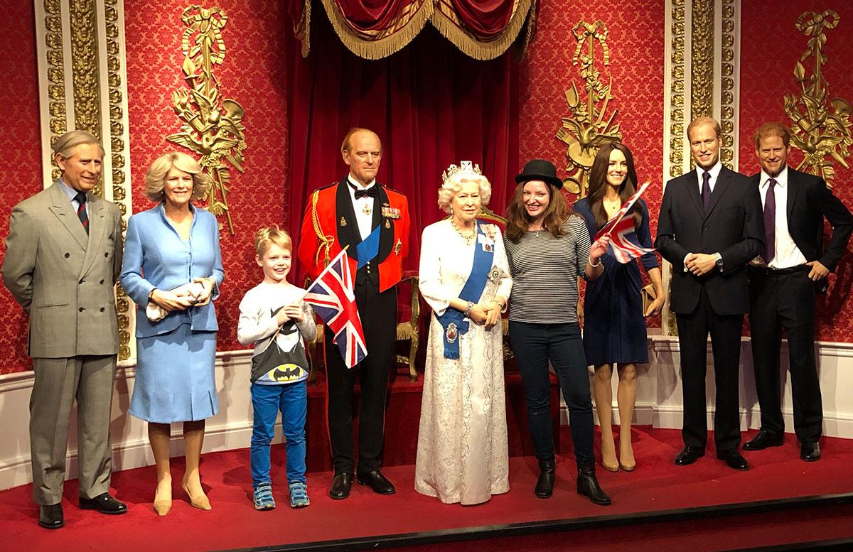 10 Ausflugstipps für London mit Kindern madame tussauds royals
