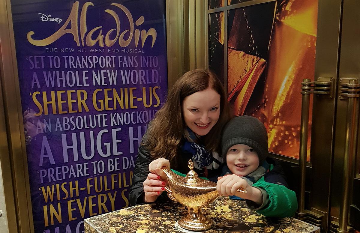 10 Ausflugstipps für London mit Kindern aladdin musical