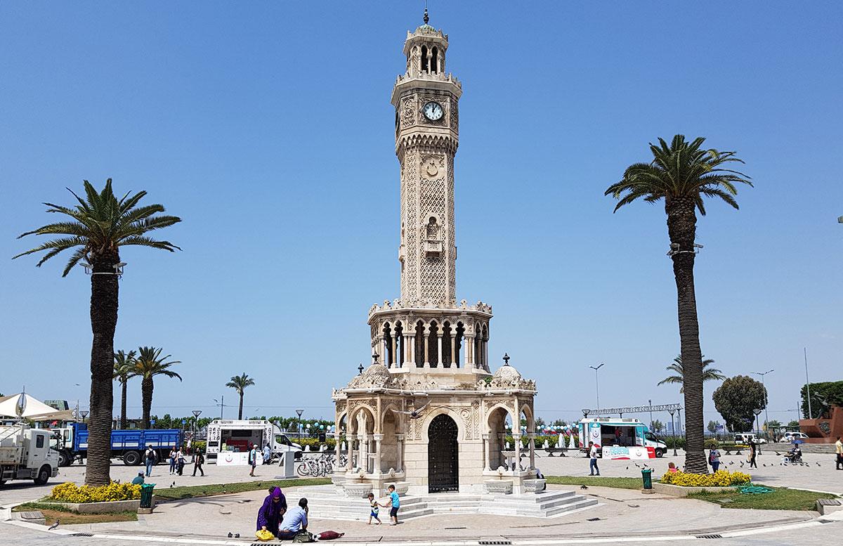 10 Ausflugtipps für Izmir, Türkei konac platz