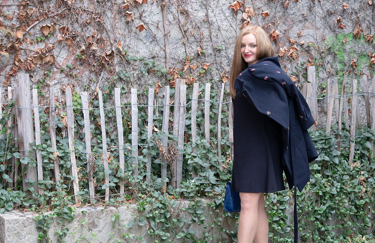 10 Gründe warum ich es liebe in Wien zu leben outfit hse24 mantel über schulter
