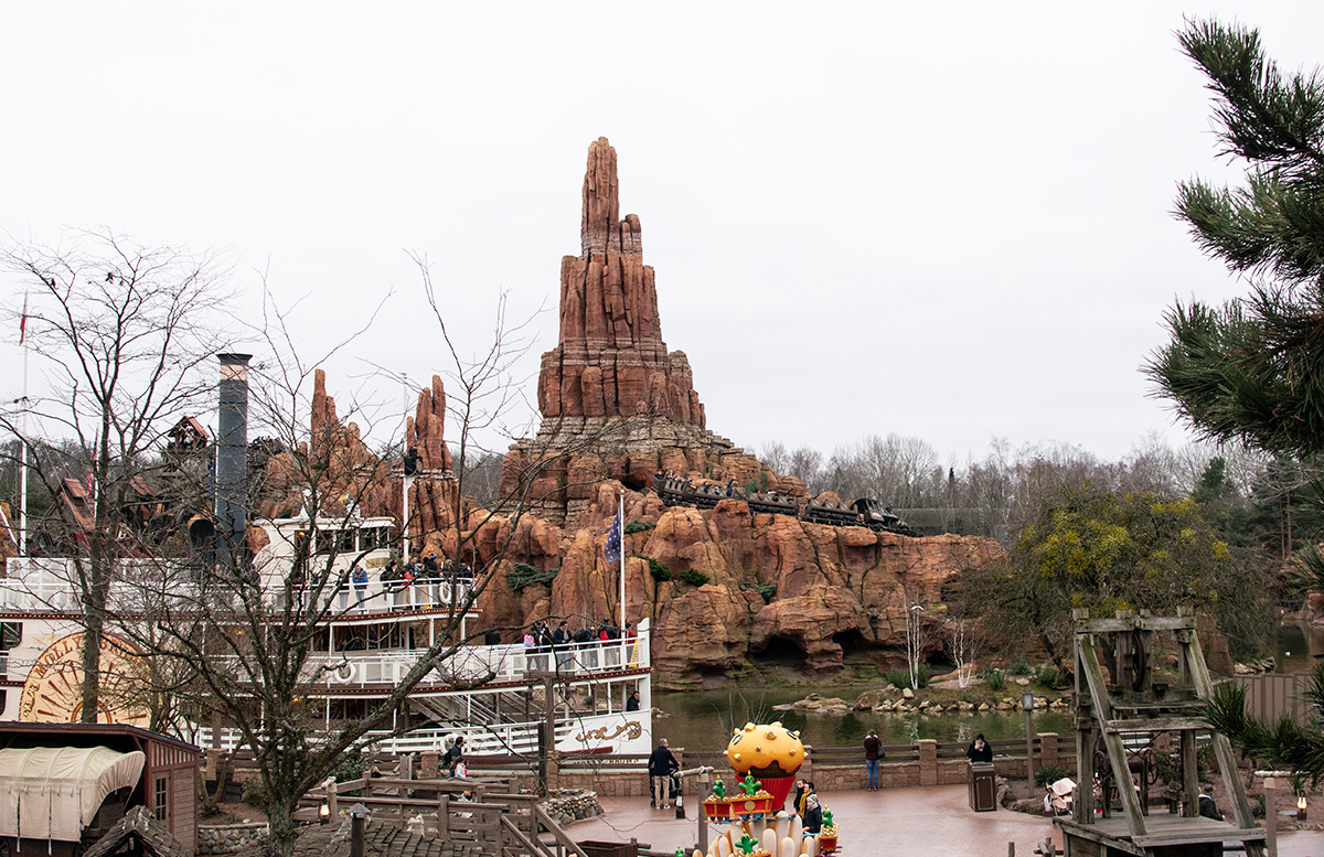 Silvester in Paris - 10 Tipps für Disneyland Paris big thunder mountain