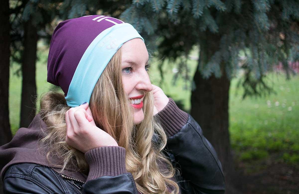 10 Tipps um fit in den Herbst zu starten odlo outfit haare und haube reversible odlo detail