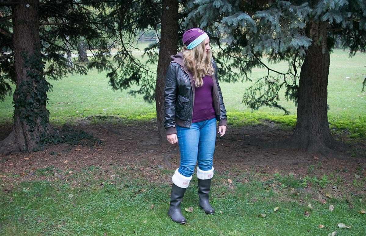 10 Tipps um fit in den Herbst zu starten odlo outfit hunter boots outfit
