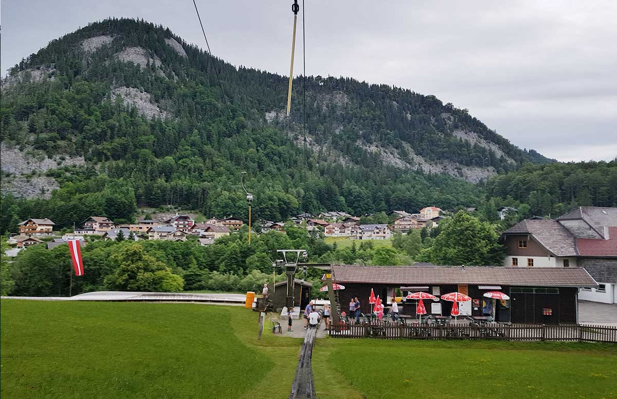 Sommerrodeln-in-Fuschl-und-der-Waldkletterweg-in-Faistenau-rodelbahn