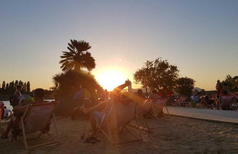 Der Copa Beach – Urlaubsfeeling in Wien