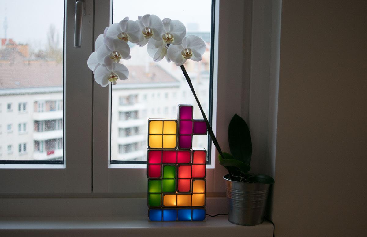 Coole-Weihnachtsgeschenke-Ideen-von-Radbag-tetrix-lampe-eingeschaltet