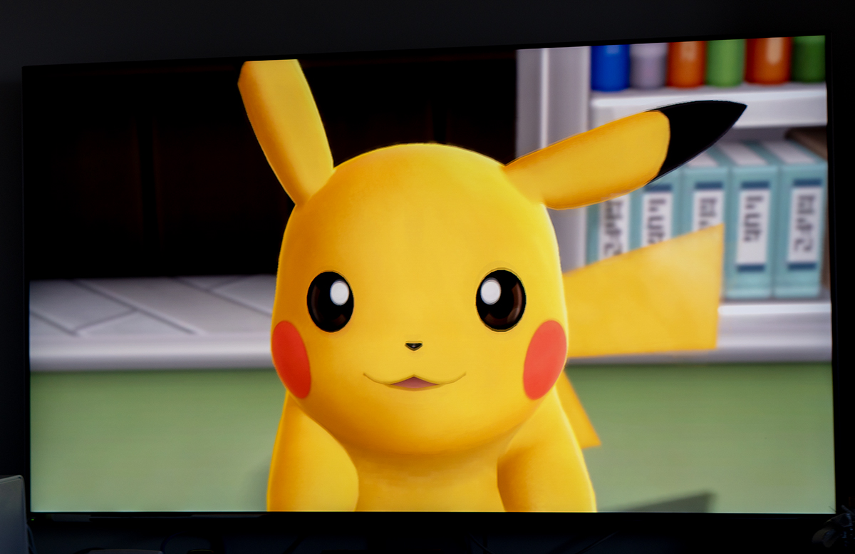 Nintendo Switch Pokemon Lets Go, Pikachu mit Pokeball pikatchu