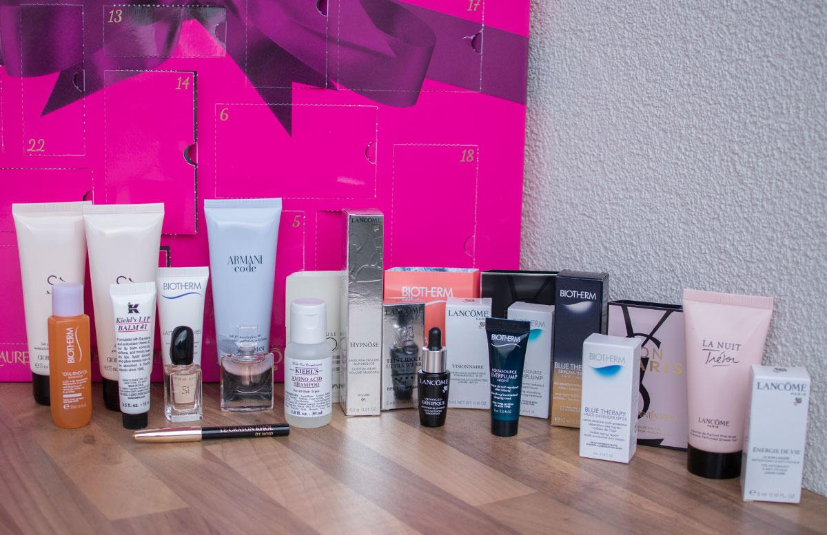Adventskalender von L'Oréal Luxe Luxus Momente für Damen vorschau alle produkte