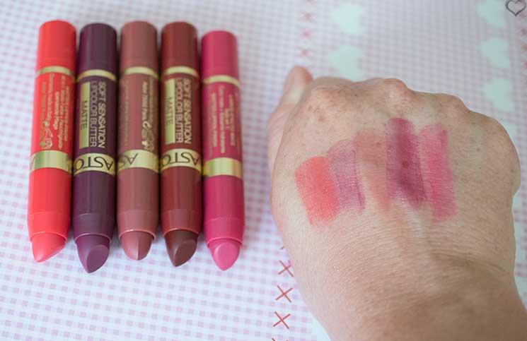 Astor-Soft-sensation-lipcolor-butter-matte-lippenstifte-geswatcht