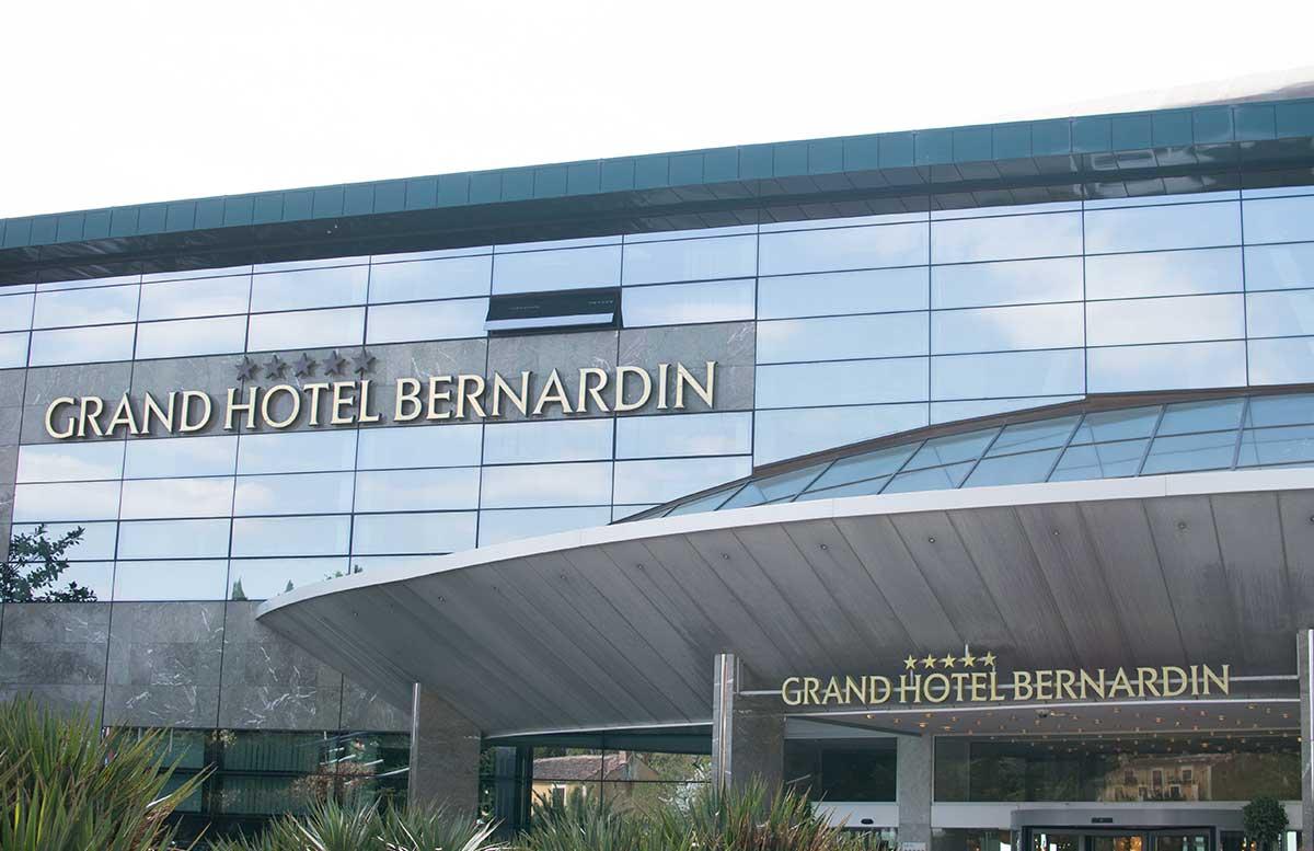 Grand Hotel Bernardin in Portoroz aussenansicht