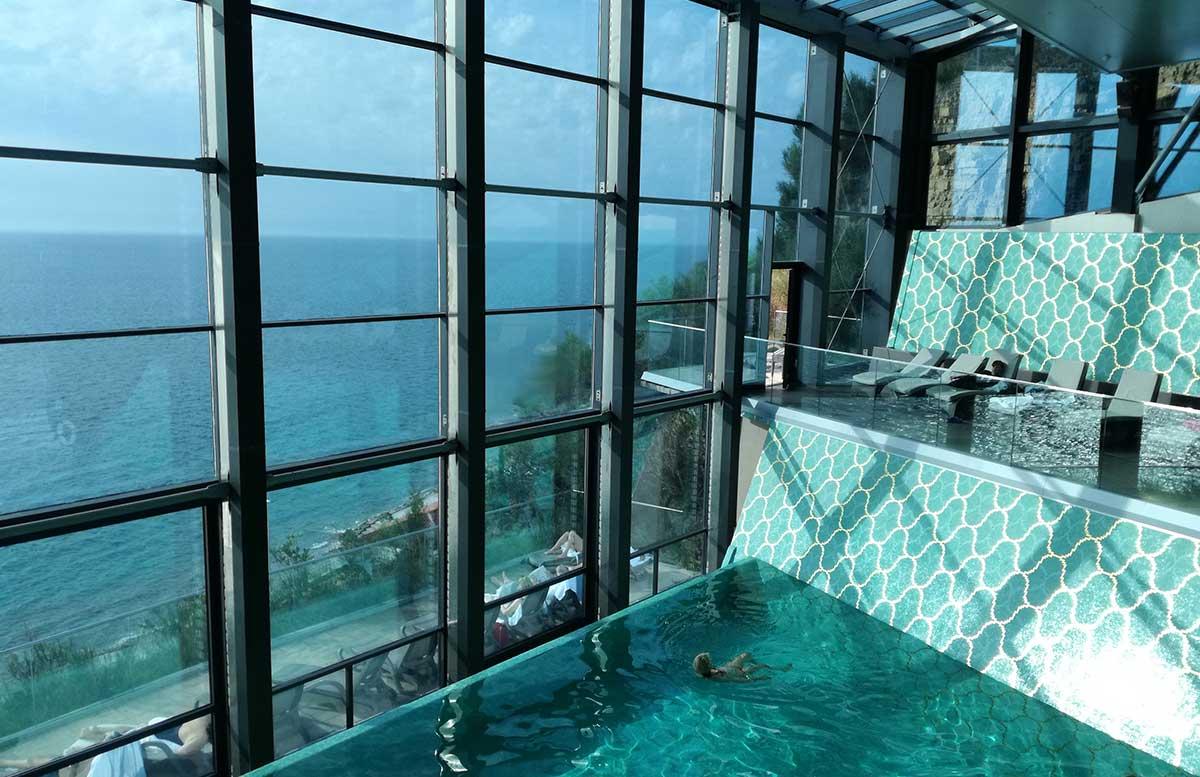 Grand Hotel Bernardin in Portoroz innenpool ansicht