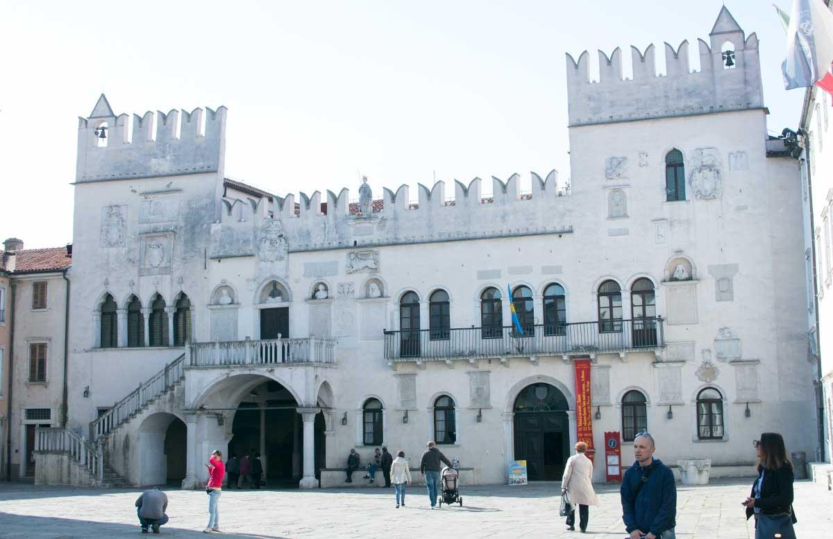 Ausflug nach Koper und Besuch des Hotel Bernardin prätorenpalast