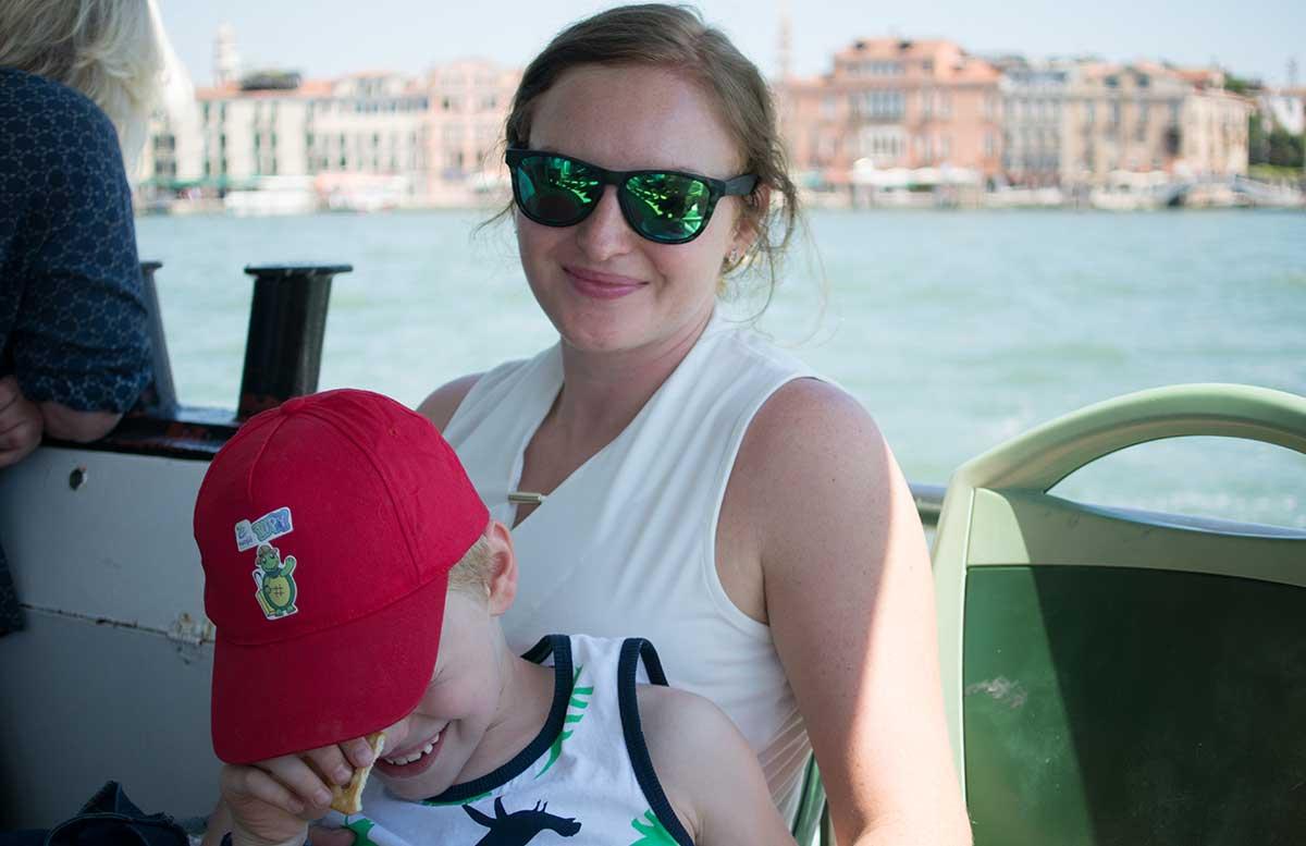 Ausflug nach Venedig und Cavallino fahrt mit dem boot