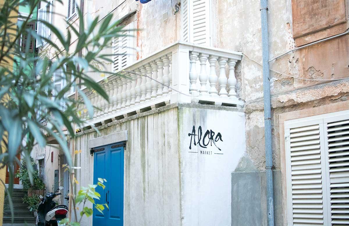 Ausflug zum Meer Portoro   und die Altstadt in Piran alora market