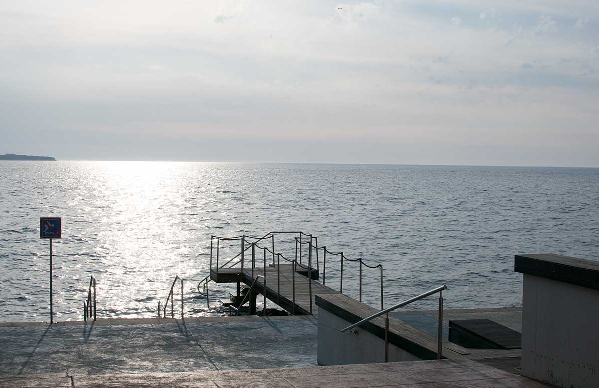Ausflug zum Meer Portoro   und die Altstadt in Piran meer