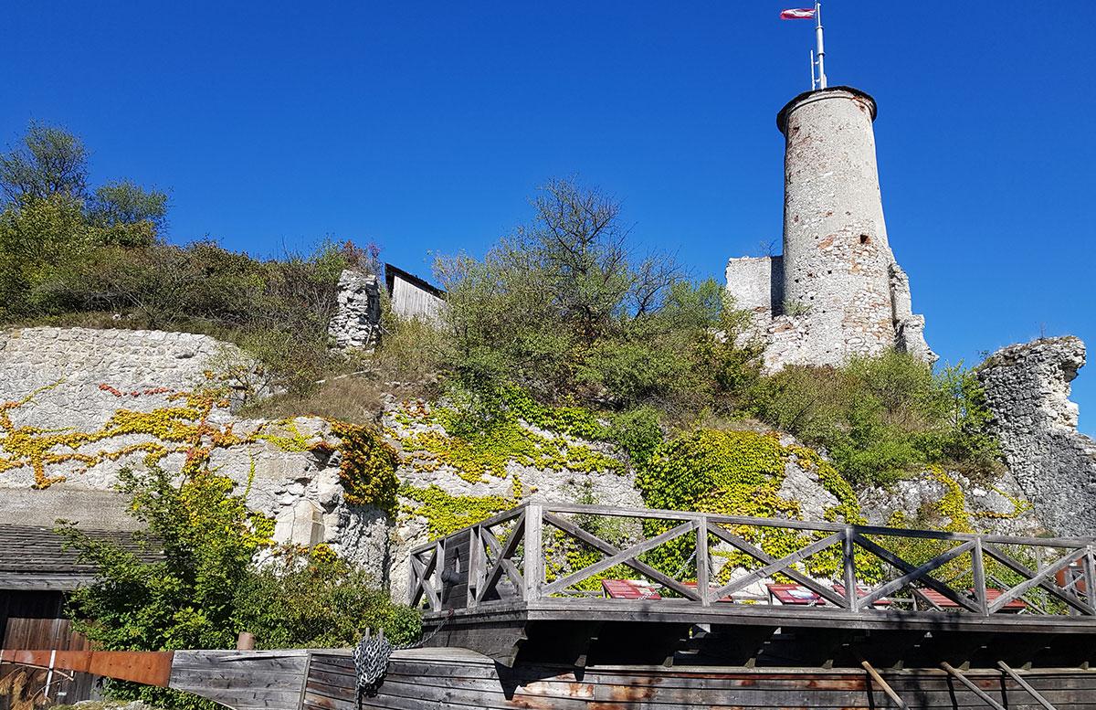 Ausflug-zur-Burg-Falkenstein-und-E-Bike-Tour-in-Poysdorf-schiff-und-ruine