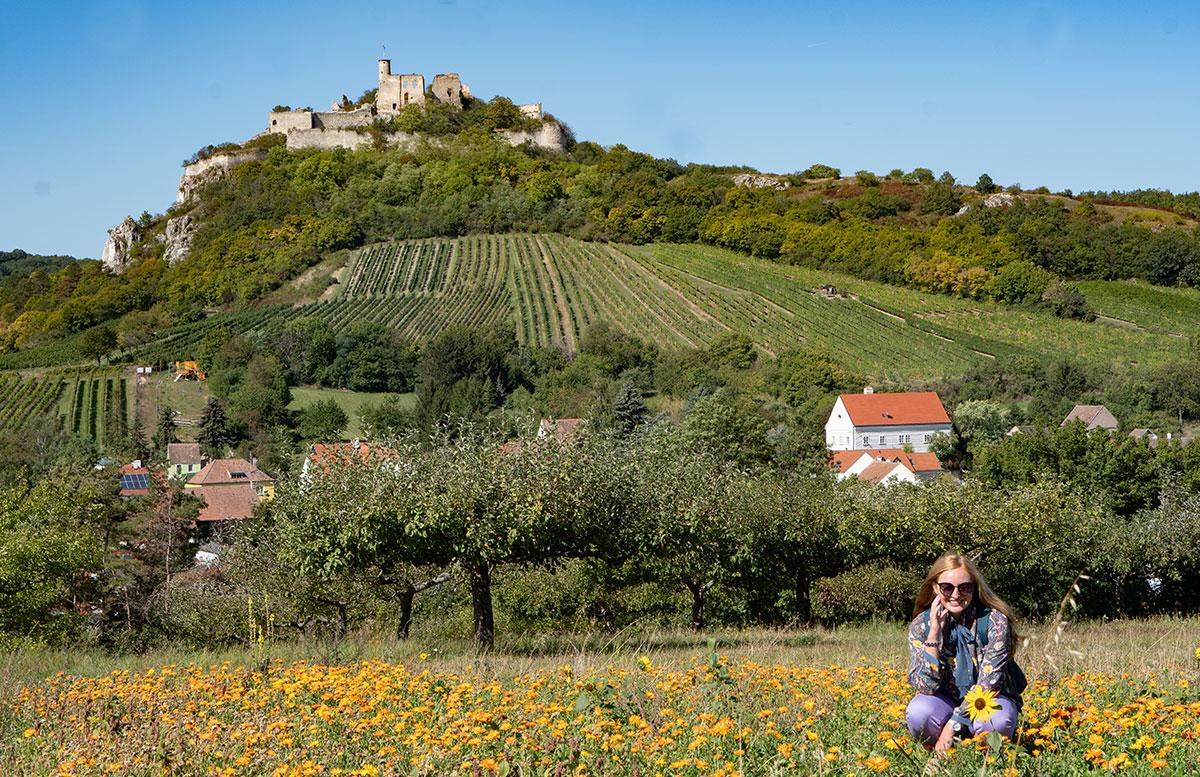 Ausflug-zur-Burg-Falkenstein-und-E-Bike-Tour-in-Poysdorf-vicky-und-burg