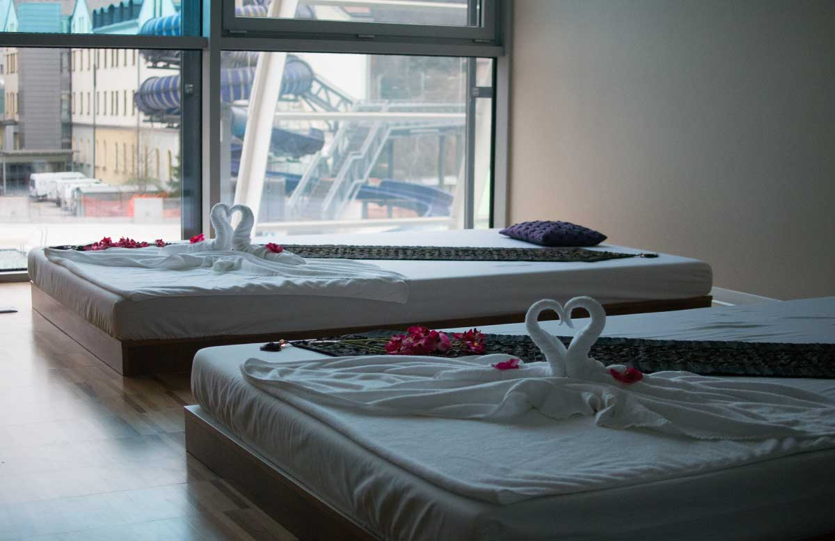Ayurveda Detox im Hotel Thermana Lasko ayurveda behandlungszimmer