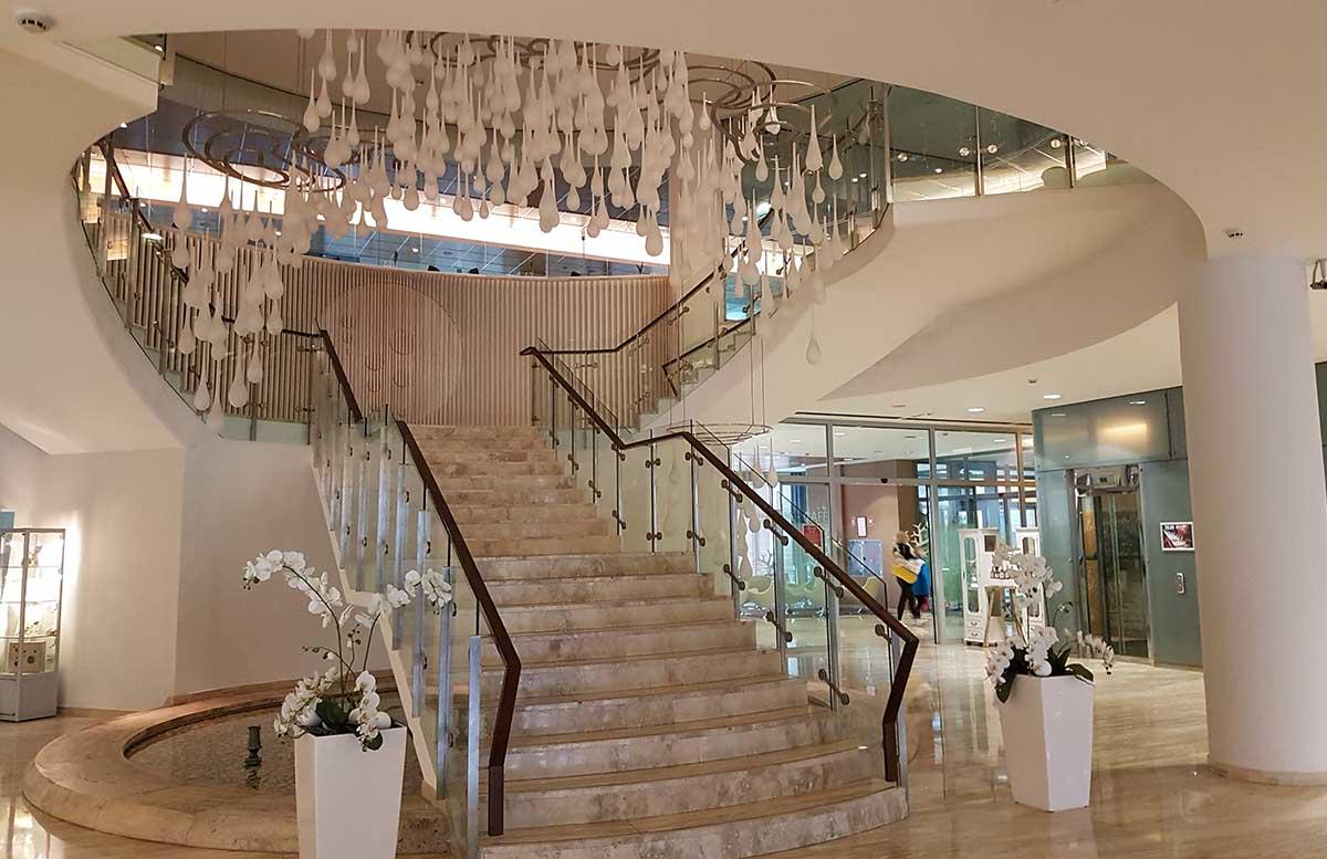 Ayurveda Detox im Hotel Thermana Park Lasko hotelhalle