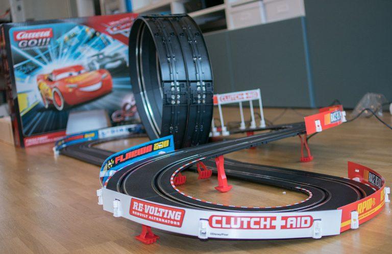 Carrera Go!!! Cars 3 Finish First Rennbahn