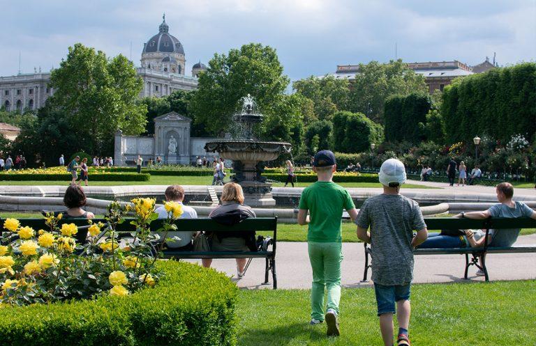 CityMAXX AR-Schnitzeljagd in Wien für Familien
