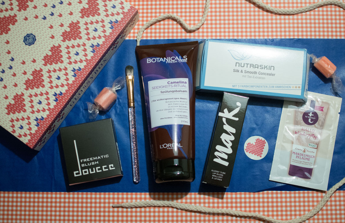 Cold days warm hearts Glossybox Dezember