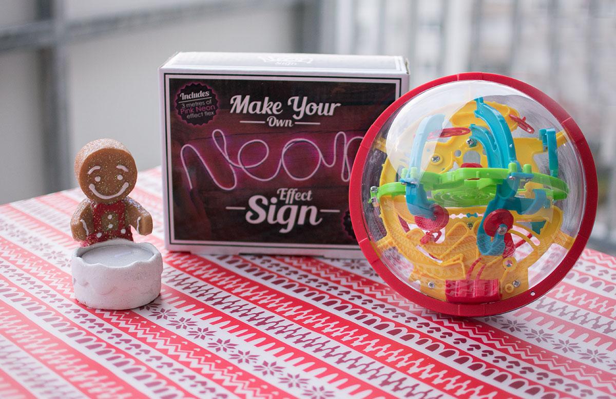 Coole Weihnachtsgeschenke Ideen von Radbag leuchtdraht lampe maze ball