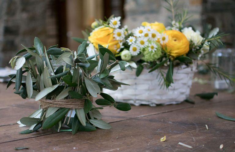 CraftTour Workshop Blumenkränze und Tisch Dekoration