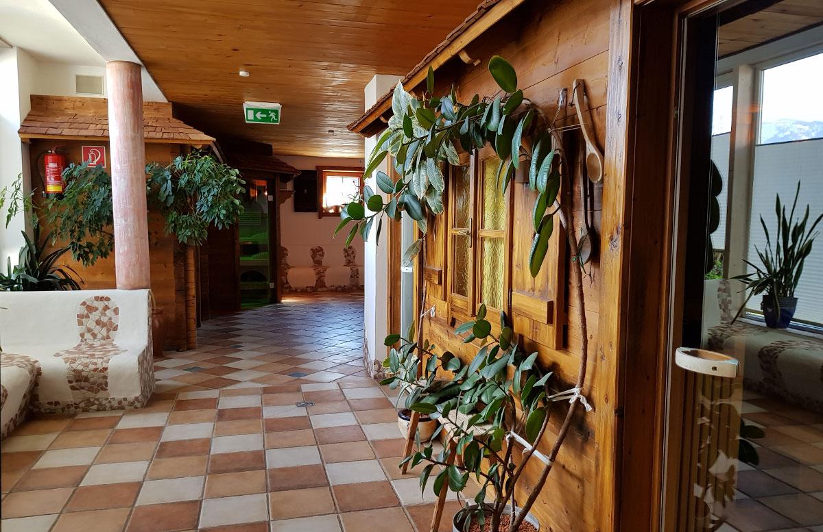Das Familienhotel Mühlpointhof in Lofer saunabereich