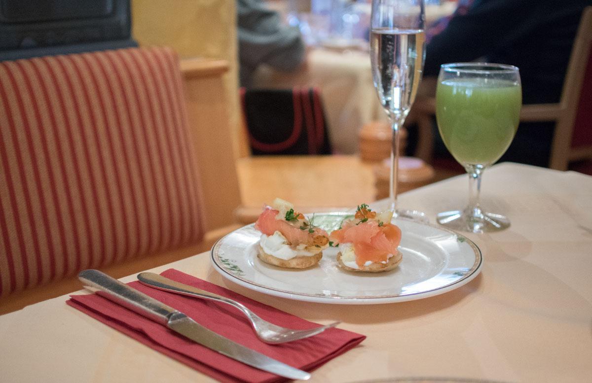 Das Hotel Hochschober auf der Turracher Höhe in Kärnten essbereich frühstück