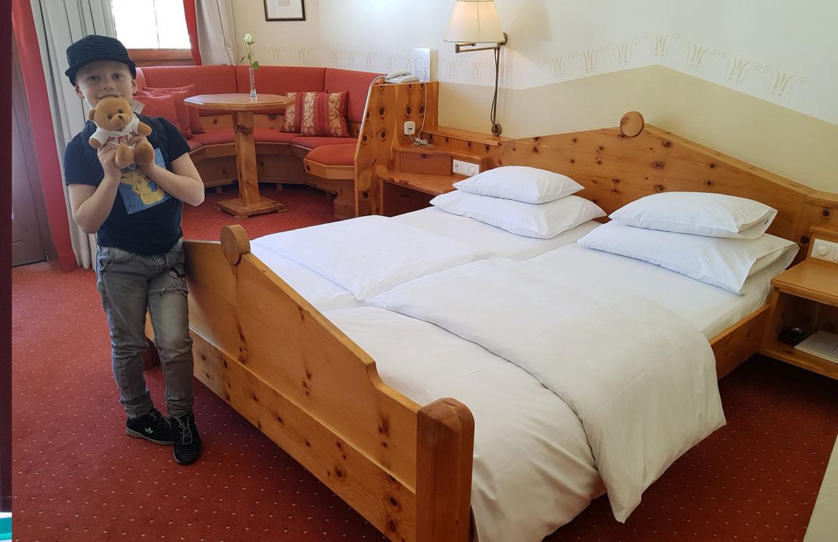 Das Hotel Hochschober auf der Turracher Höhe in Kärnten zimmer