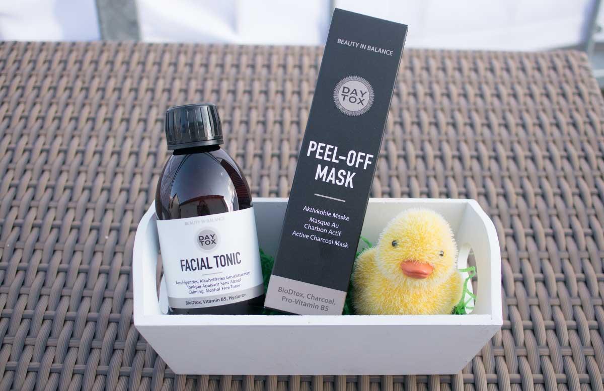 Daytox Peel-off mask - Die Aktivkohle Maske produkte