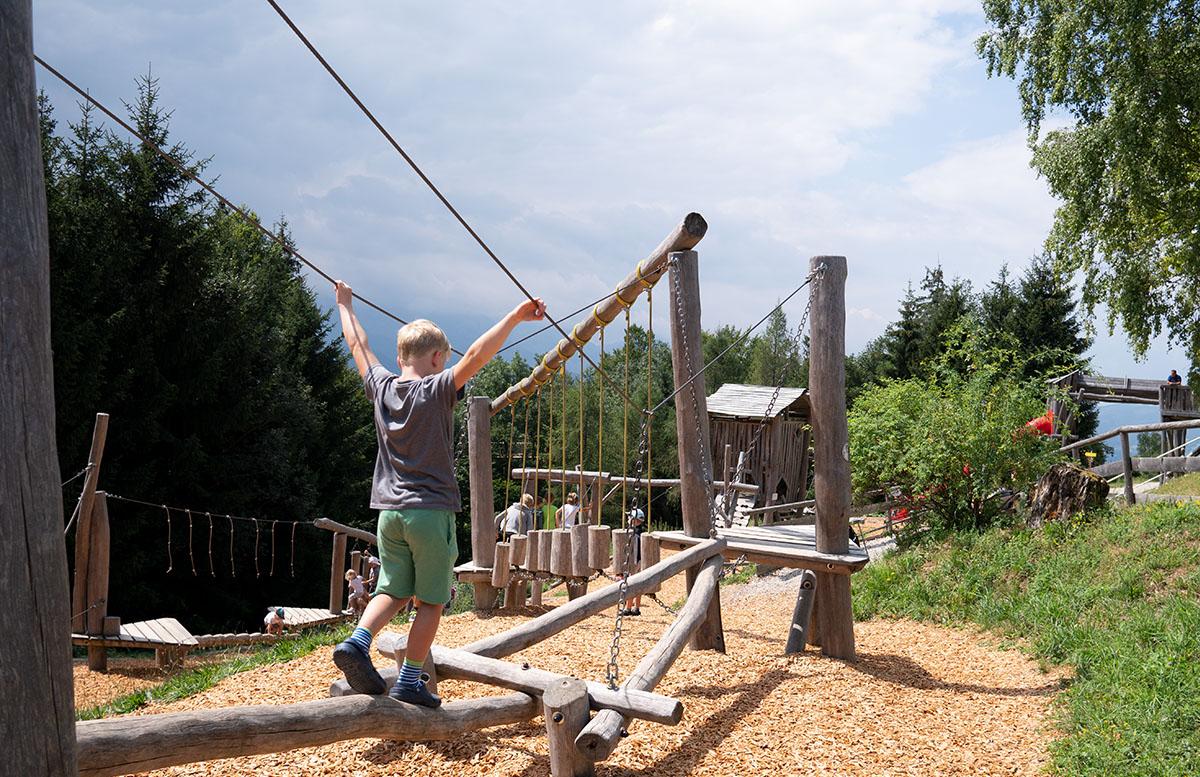 Der Baumwipfelpfad am Grünberg in Gmunden abenteuerspielplatz