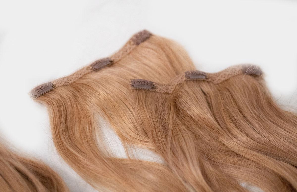 Der Traum von langen Haaren mit Clip-in Extensions haarteile