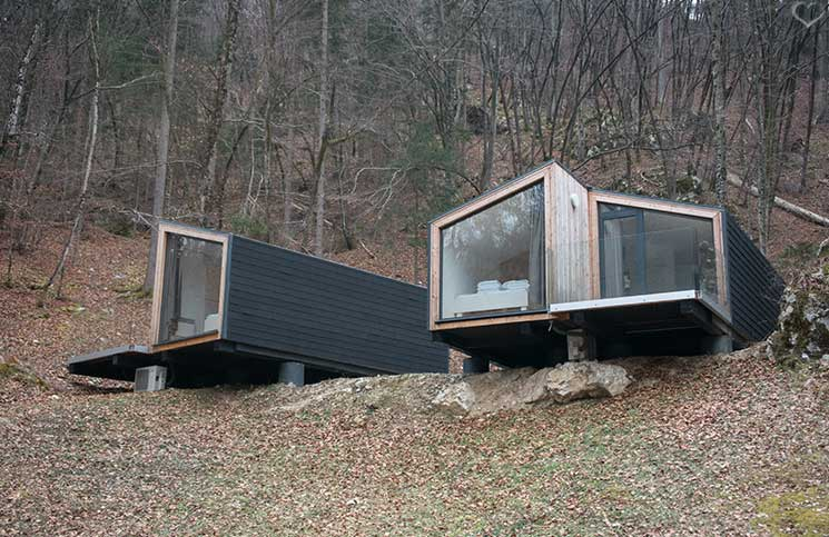 Die-Burg-Bled-und-Luxus-Camping-in-Ljubno-luxus-camping-clamping-luxus-hütten