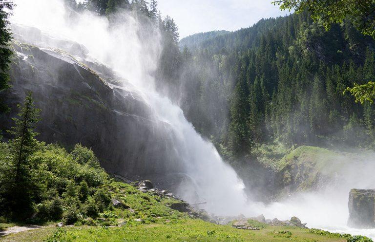 Die Krimmler Wasserfälle – die größten Wasserfälle Europas