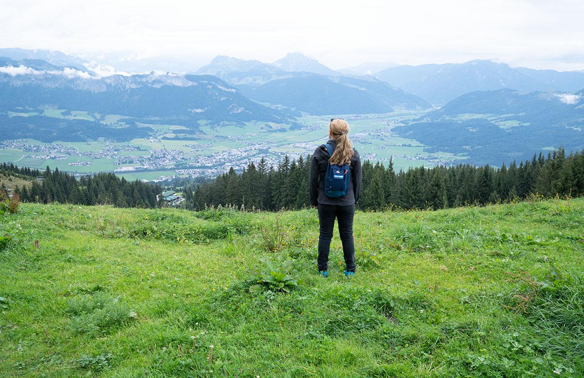 Die Pressereise ins Glück - Wie das Yapadu nach St. Johann kam berg wandern aussicht