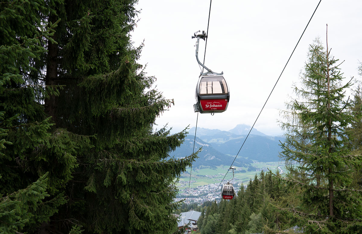 Die Pressereise ins Glück - Wie das Yapadu nach St. Johann kam berg wandern seilbahn