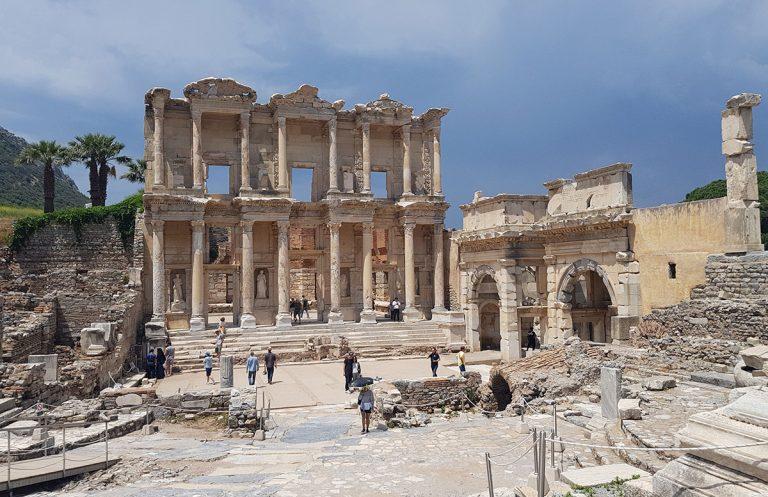 Die Ruinen von Ephesos