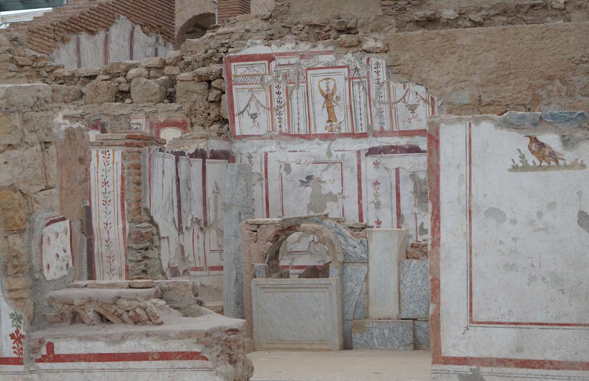 Die Ruinen von Ephesos hanghäuser
