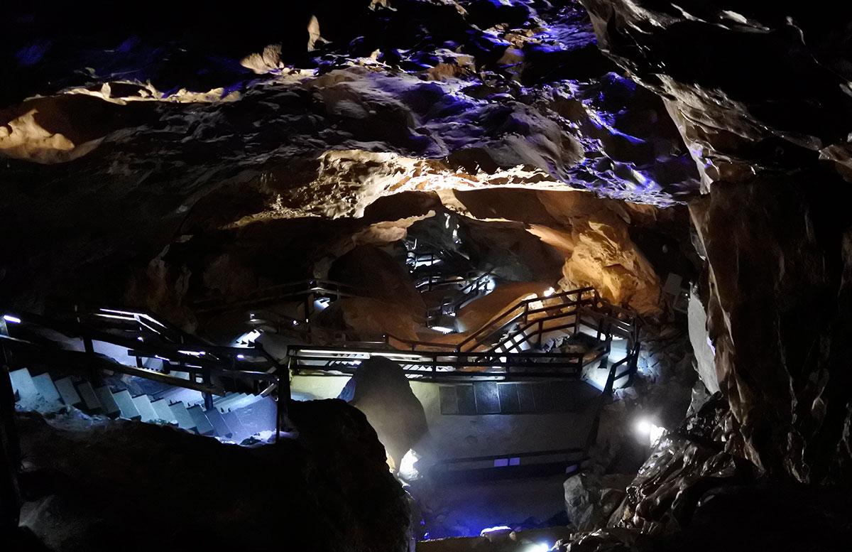 Die Saalachtaler Lamprechtshöhle in St. Martin bei Lofer höhlenforscher 70m