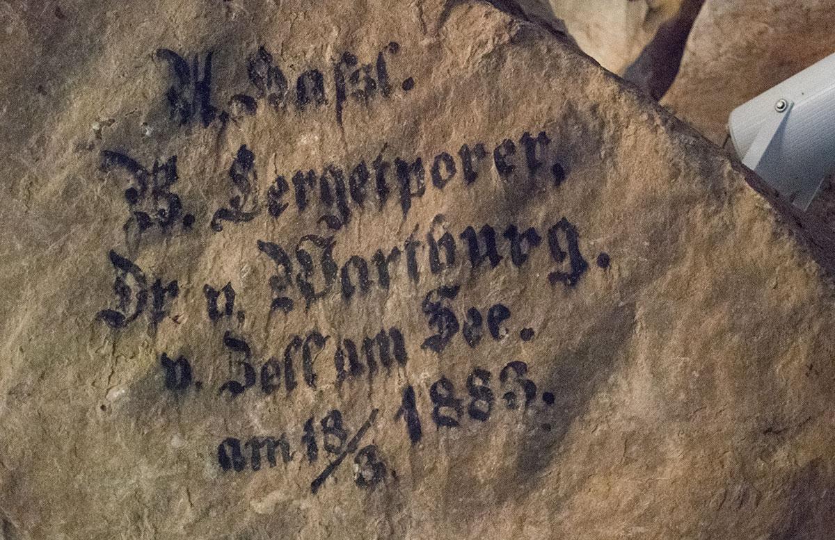 Die Saalachtaler Lamprechtshöhle in St. Martin bei Lofer höhlenforscher
