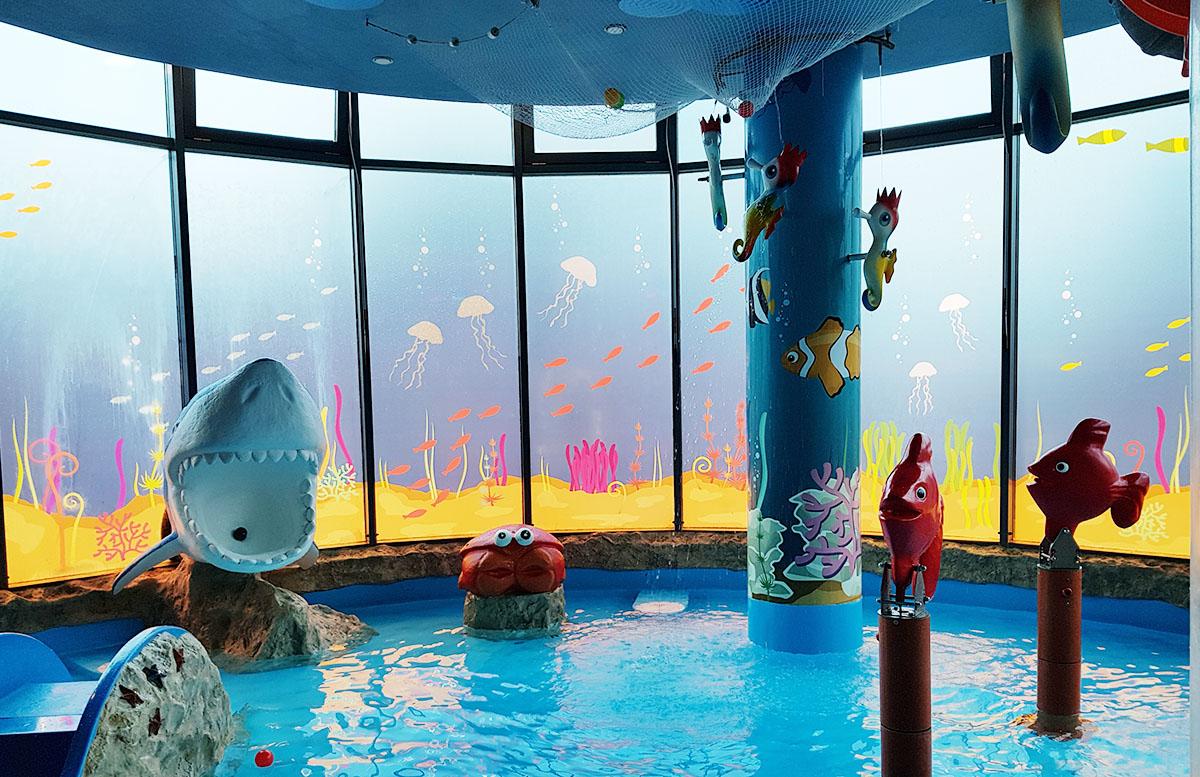 Die Therme Bük - Heilwasser und Rutschenspaß für die ganze Familie aquarium