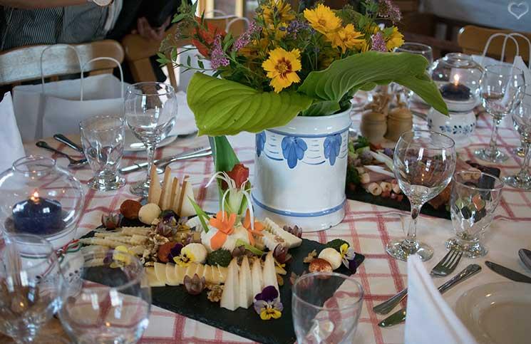 Die Therme Bükfürdo und Restaurant Tipps für Bük-restaurant-Rigótanya-käseplatte