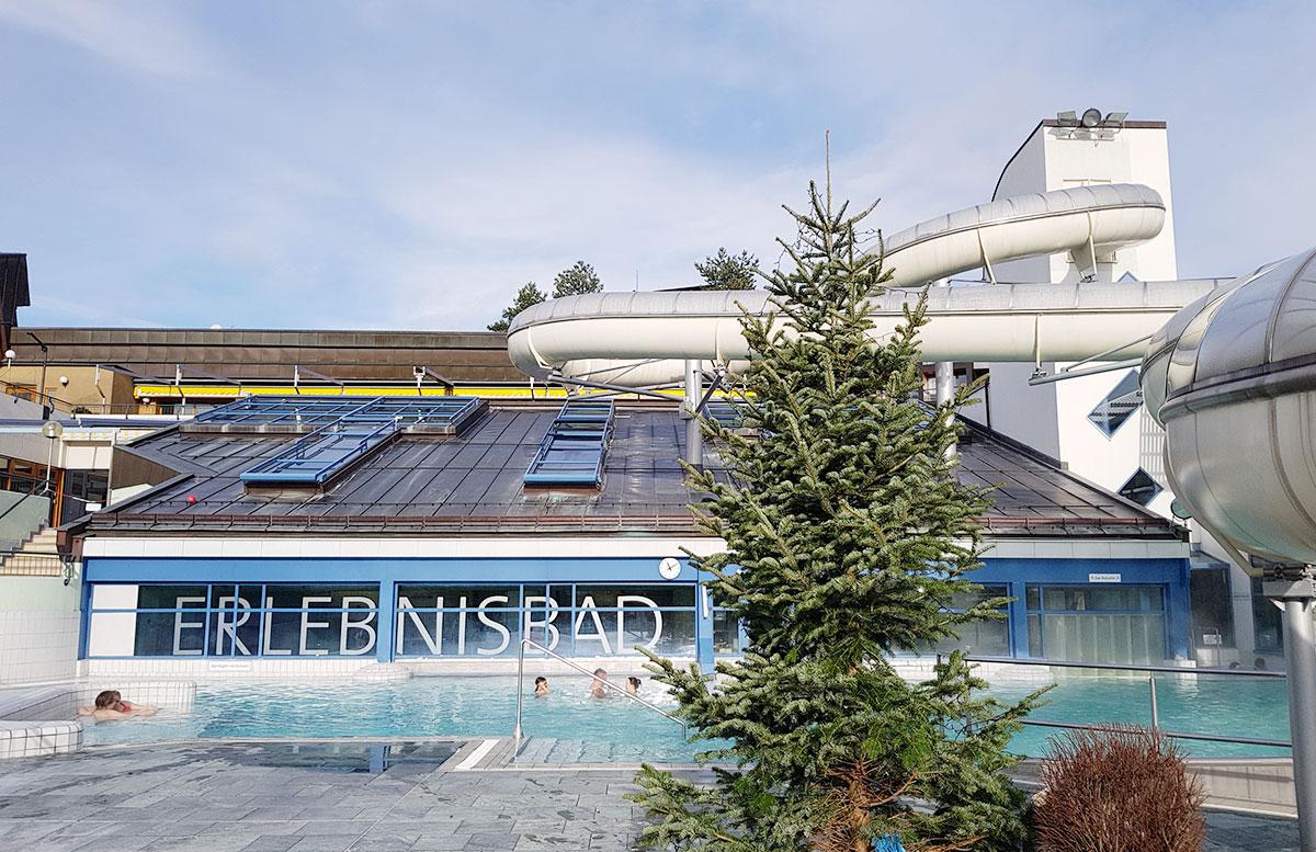 Die Therme Loipersdorf in der Steiermark heilwasser erlebnisbad