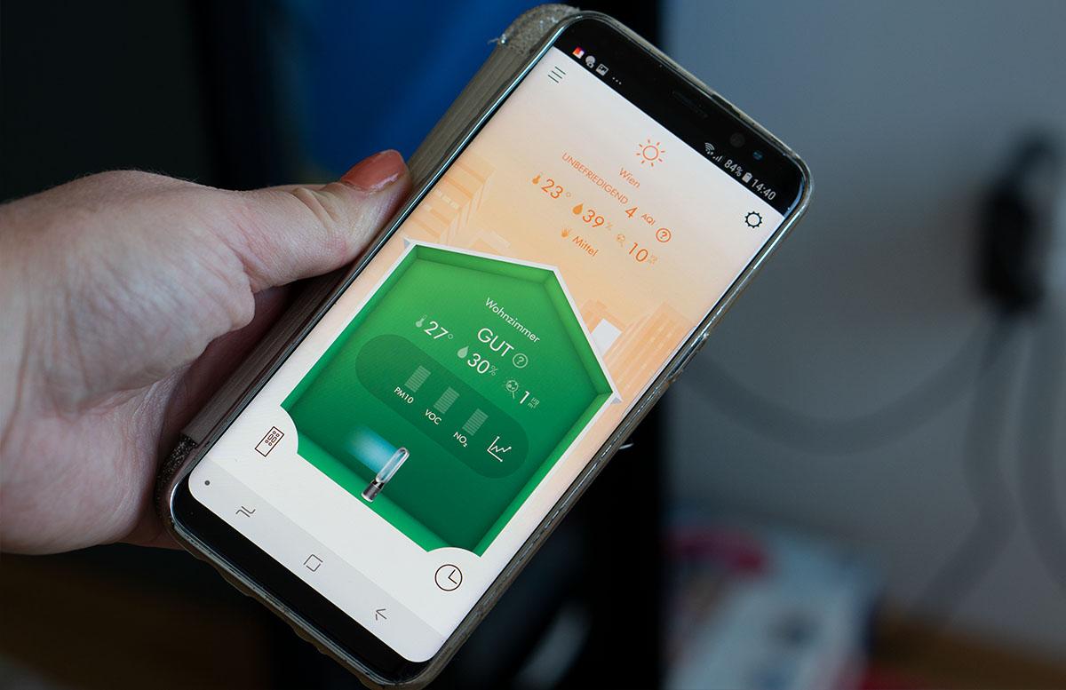 Dyson Pure Cool - Der Luftreiniger zum Wohlfühlen app luftqualität