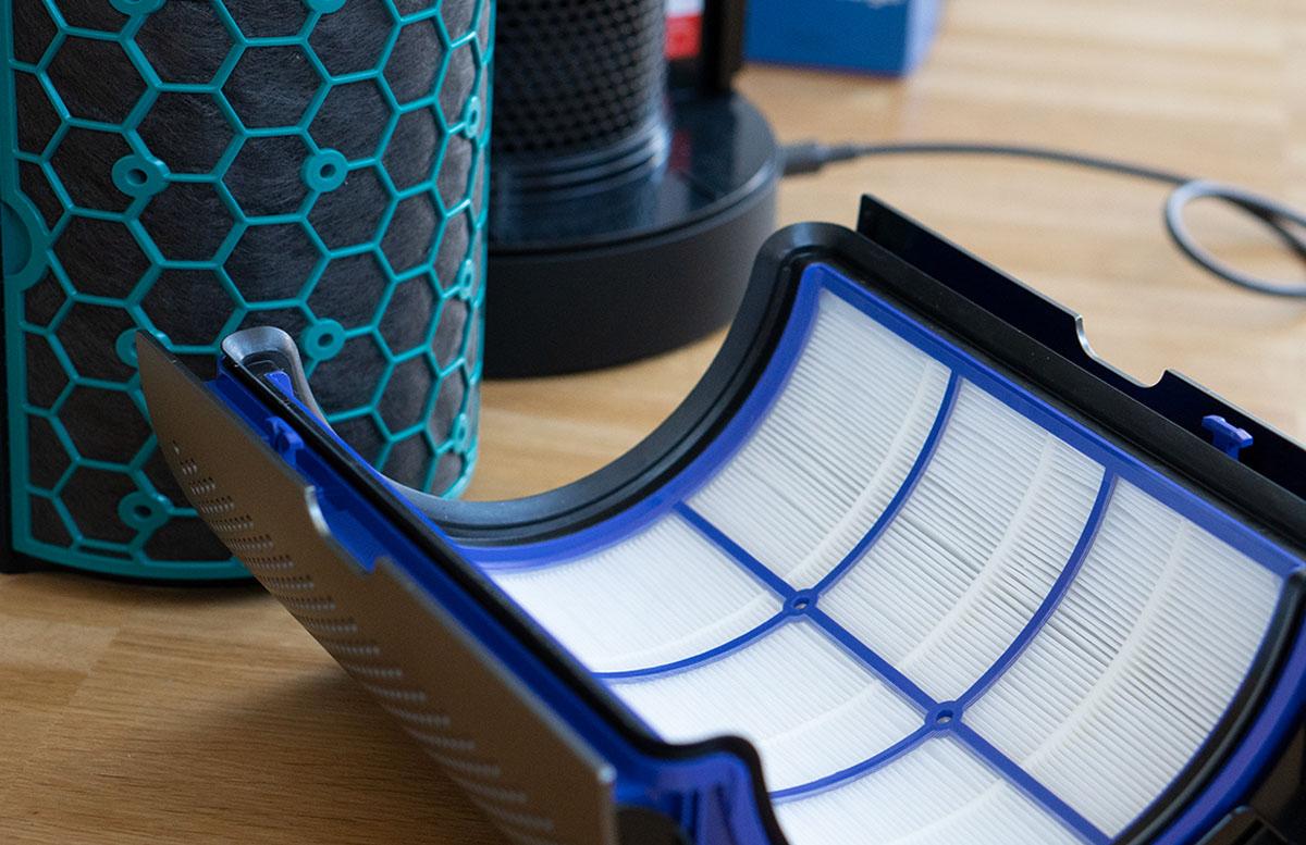 Dyson Pure Cool - Der Luftreiniger zum Wohlfühlen filter